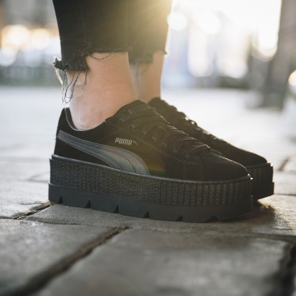 53267fa30b1 Fenty by Rihanna x Puma WMNS Suede Cleated Creeper